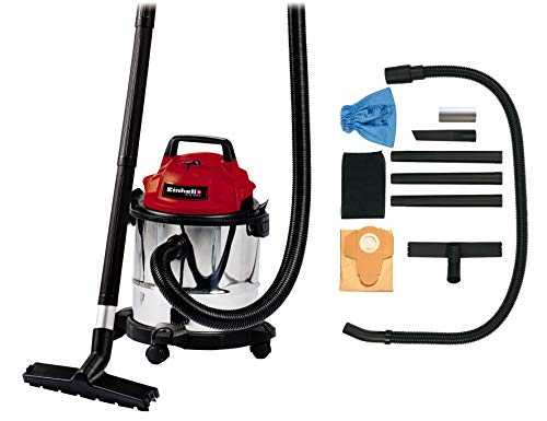 Einhell 2342370 TC-VC1812S 12 Litre Wet Dry Site Vacuum Cleaner 240v, 1250 W, Multi