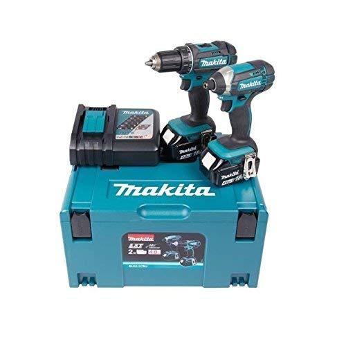 Makita - Perforar ddf482 + llave de impacto dtd152 18 v - dlx2127mj6