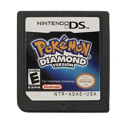 Diamond Version Pokemon Game Card for Nintendo 3DS NDSi NDS Lite US Version (Reproduction Version)