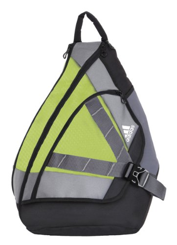 adidas Unisex Adult Wright Backpack Sling, Lab Lime, One Size
