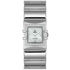 Omega Women's 1528.76.00 Constellation Quadra Quartz Diamond Watch image
