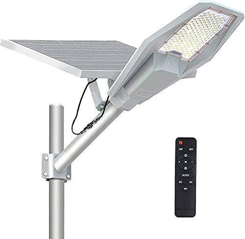 300Wソーラー街灯 屋外LED照明 36000mAH/3.3V リチウム電池 防犯ライト 配線工事不要 太陽光発電 夜間自動点灯 IP67防水 超大太陽光パネル 自動電力配分 ガーデンライト・庭園灯・駐車灯・工業ランプ・道路灯・歩道灯などが適用可能です。