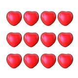Yue668 - Lote de 12 unidades de crema perfumada con forma de corazón para...