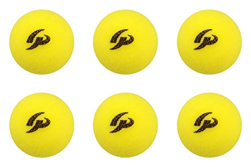GP ジーピー GP ジーピー 野球バッティングトレーニングボール スポンジ素材 黄色 42mm 6個入り 34143