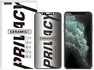 PRIVACY iPhone 12 Mini/Pro/Pro Max CERAMIC Anti-spy Privacy Screen Protector Full Coverage (iPhone 12/12 Pro)
