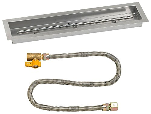 Read About American Fireglass 30″ X 6″ Linear Drop-in Pan with Match Light Kit -Natural Gas