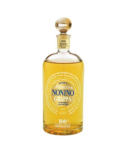 Nonino Grappa Il Prosecco Monovitigno im Barrique gereift 41% vol. mit Geschenkverpackung (1 x 0.7 l)