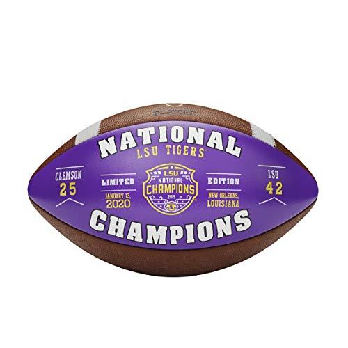 LSU Tigers Football Champion 2020 - Campeón de fútbol