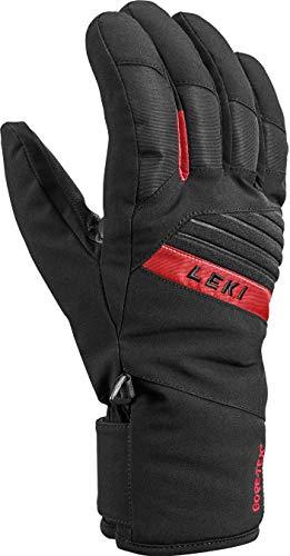 LEKI Bâtons de Ski Unisexe Adult Sports Noir/Rouge Taille 9