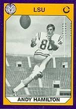 Andy Hamilton Football Card (LSU) 1990 Collegiate Collection #145
