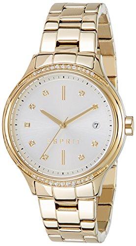 ESPRIT Damen Analog Quarz Smart Watch Armbanduhr mit Edelstahl Armband ES108562002