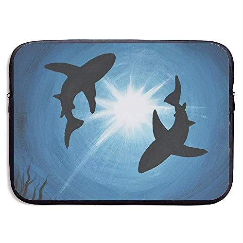 N/A Borsa per Notebook,Ventiquattrore per Pc,Sleeve per Laptop,Borsa Protettiva per Tablet Subacqueo Cool Shark,Borse per Notebook/Uomo,Tasca per Laptop 13 inch