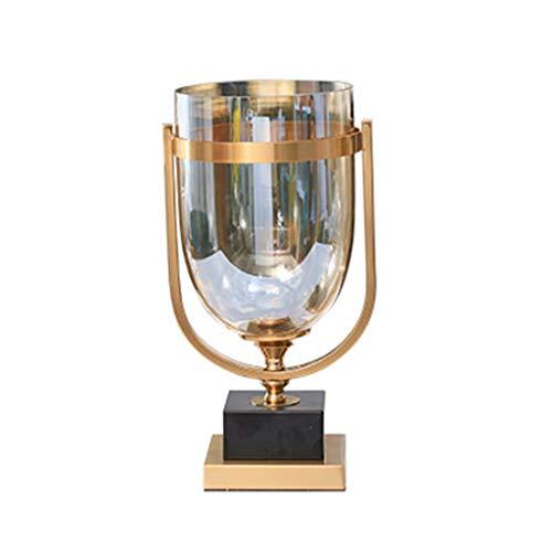Inicio Accesorios Jarrón de vidrio Creativo Decoración para el Hogar Florero Moderno Decoración del Hogar Sala TV Gabinete de Vino Mostrar Hogar y Jardín (Tamaño: S)