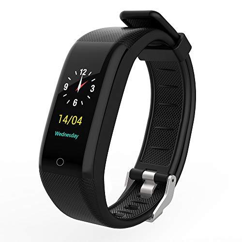 TEAMYO Orologio da Polso Intelligente Orologio da Polso Monitor di frequenza cardiaca Sonno Sport Tracker IP68 Impermeabile Smartwatch