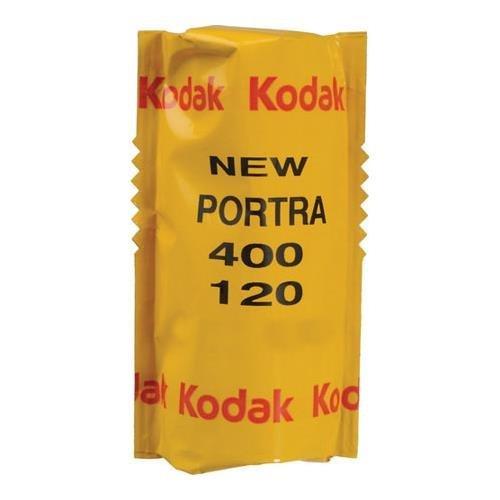 Kodak Portra 400 Professional ISO 400, 120 mm, Farbnegativfilm (1 Rolle) 3 Pack