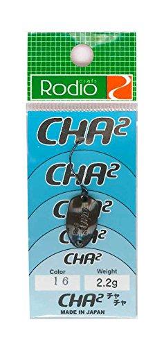 Rodiocraft(ロデオクラフト) ルアー CHA2(チャチャ) 2.2g #16チョコレート スプーン