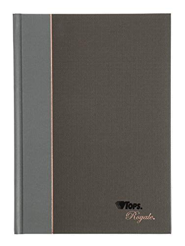 TOPS Royale Business Casebound Notebook, College Rule, 5.875 x 8.25 Inches, 96-Sheet (25230)