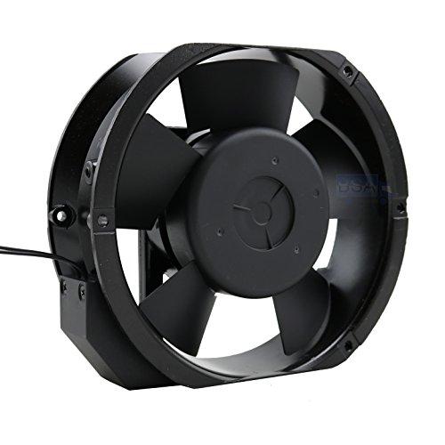 Jamicon Ventilador 220 V 230 V axial 172 x 150 x 51 mm JA1751H2B0N Dual Ball Bearing AC