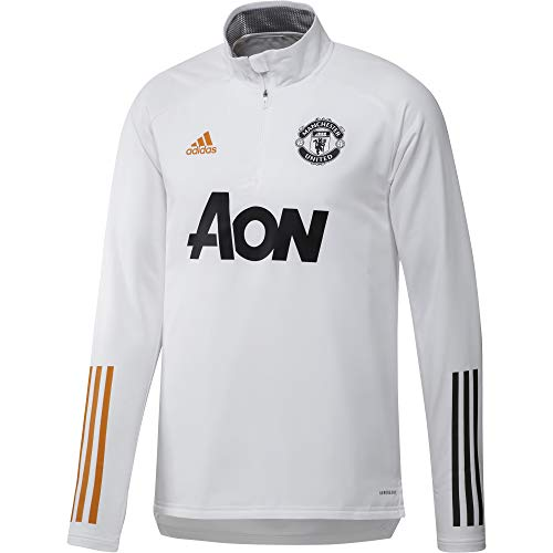 adidas 2020-2021 Man Utd Warm Top (White)