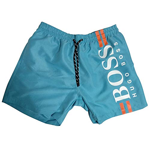Boss Hugo Bañador para Hombre (XL, Tuquesa)