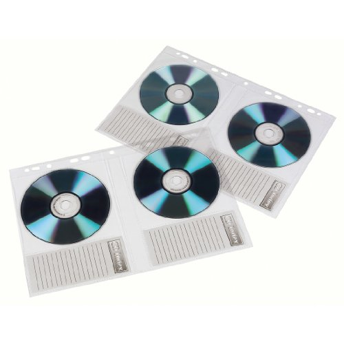Hama CD ROM Ordnerhüllen DIN A4 für 20 CD-ROMs