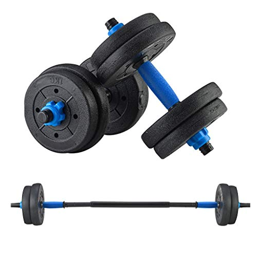 Dumbbells Set, Adjustable Weights Solid Steel Dumbbells Pair for Adults Home Fitness Equipment Gym Workout Strength Training with Connecting Rod Used as Barbell (10KG,20KG,30KG,40KG) (10KG)