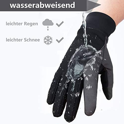 OZERO Touchscreen Winterhandschuhe, Thermo Fahrradhandschuhe & Laufhandschuhe für Herren und Damen - 2