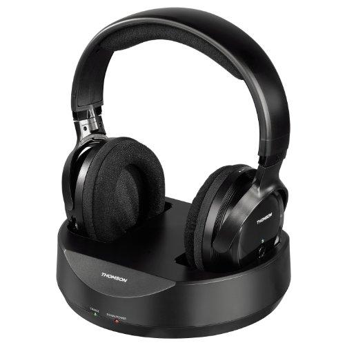 Thomson Radio UHF Wireless Headphones - Black