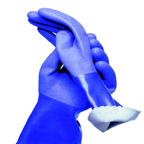TRUE BLUES Small True Blue Rubber Gloves, 1 EA