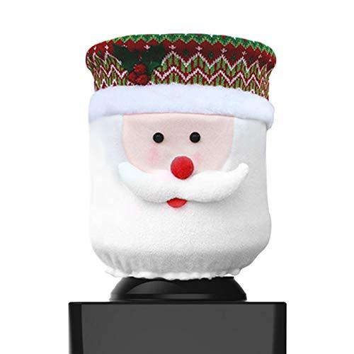Christmas Water Dispenser Cover Santa Claus Dust Cover for 5 Gallon Bottle Water Cooler Dispenser Reusable Christmas Decorations for Home Office Water Dispenser