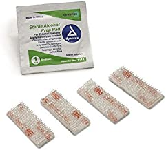 EZ Pass Mounting Kit: Ezpass Strips, 3M Dual Lock Tape - Peel-and-Stick Strips - 8 Pieces (4 Set) with Alcohol Prep Pad (2 Pieces) - (for Mounting 2 Ez Pass)