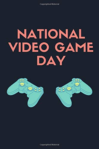 National Video Game Day: notebook