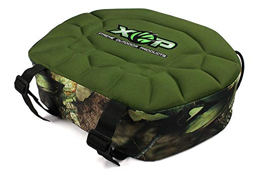 XOP-XTREME OUTDOOR PRODUCTS Deluxe Padded Mossy Seat Cushion, Oak Camouflage