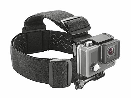 Trust Urban Kopfband (geeignet für GoPro/weitere Aktionkamera (Sony, JVC, Rollei, Contour, Drift)) schwarz