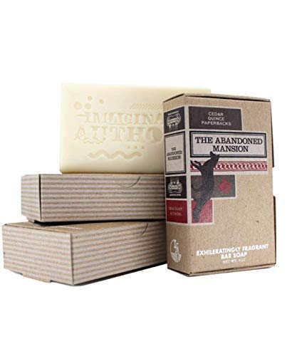 Imaginary Authors The Abandoned Mansion Handmade Scented Soap - Unisex - 6 ounce Bar