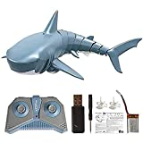 OUTFANDIA Remote Control Shark Toy for Water, Rechargeable Electric Toy RC Shark Pool Toys for Kids