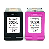 Cartridgeify 302XL Compatibile con HP 302 302XL Cartucce d'inchiostro, per HP Officejet 3830 3831 4650, Deskjet 1110 2130 2132 3630 3632 3637, Envy 4520 4524 4527