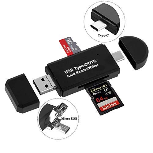 USB Typ C OTG Adapter Speicherkartenleser für Samsung Galaxy S20 Ultra S10e S10 S9 S8 Plus Note 20 10 9 A20e A20s A30s A40 A41 A42 A50 A51 A60 A71 M20 M21 , Tab S7 S7+ S6 Lite S5e /Tab A 10.1 /Tab A7