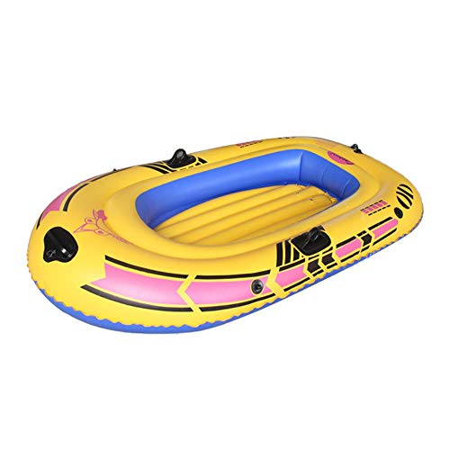 Lamptti Inflatable Kayak Boats for Adults and Kids, Fishing Touring Whitewater Kayaks for Adults Fishing, 1/2/3 PersonCanoe Fishing Boat Inflatable Boat Set