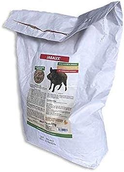 Ahuyentador de jabalíes Jabalex 10Kg | Repelente de jabalís granulado | Croquetas atrayentes de jabalís | Les provocan indigestión y no vuelven | Ideal para cultivos, maizales, naranjos y césped