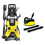Karcher K5 Premium Electric Power Pressure Washer, 2000 PSI, 1.4 GPM & T300 Hard Surface Cleaner for Electric Power Pressure Washers (Deck, Driveway, Patio, Tool Accessory)