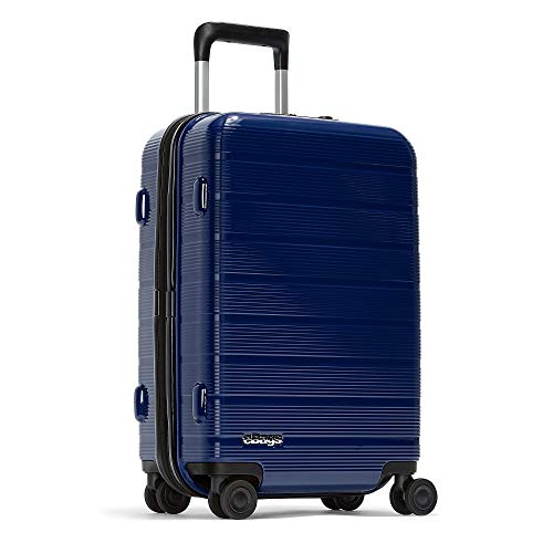eBags Fortis 22 Inches Carry-On Spinner (Blue)