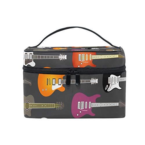 FANTAZIO - Bolsa de maquillaje barata para guitarras eléctricas