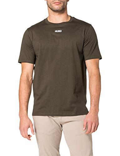 HUGO Herren Durned212 10225143 01 T-Shirt, Dark Green306, XL