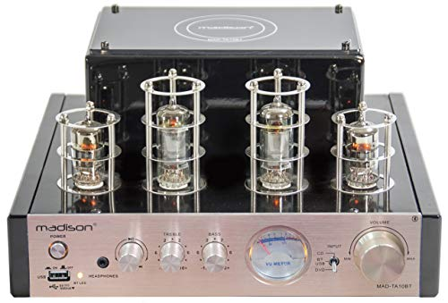 MAD-TA10BT - MADISON - STEREO TUBE AMPLIFIER 2 X 25W RMS
