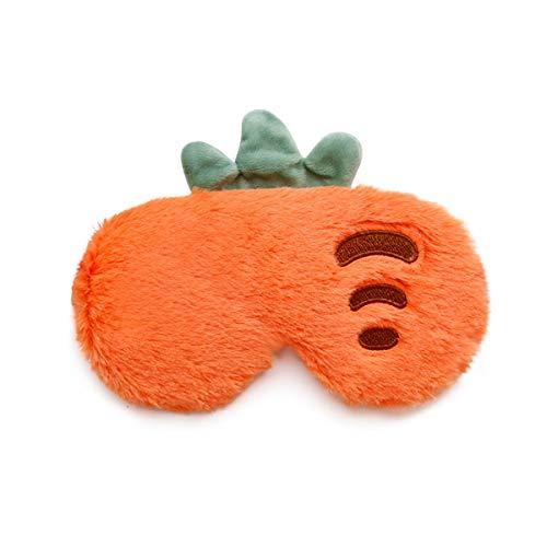 GLCS GLAUCUS Antifaz para Dormir Suave Bloquear Luz Ojo Máscara Lindo Fruta Cubierta del Ojo para Adultos Niños Viajes Resto