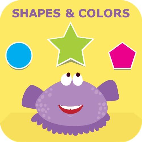Shapes & Colors: Kindergarten & Preschool Games- FREE