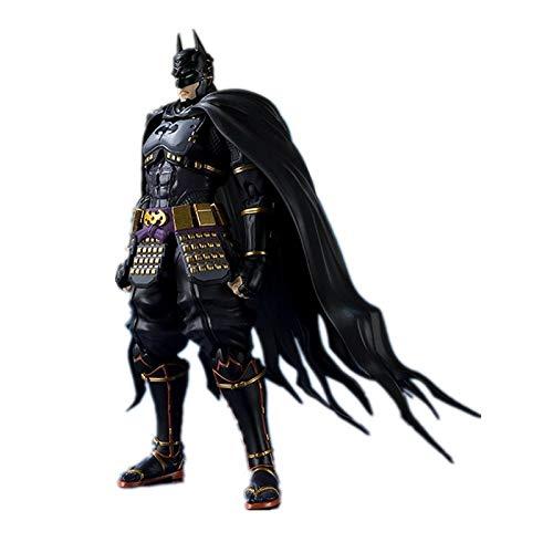 qwermz Modelo De Anime, Ustice League SHF Ninja Batman PVC Figura De Acción De Juguete Batman PVC Colección De Figuras Modelo 16cm con Caja
