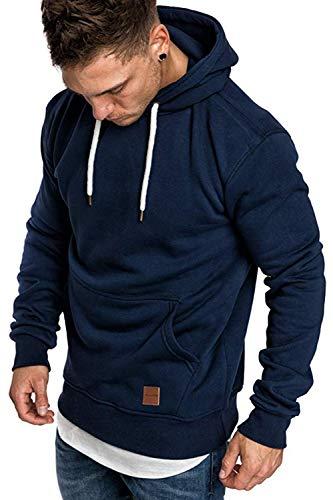 Herren Sweatshirt Hooded Sweat Jacke Slim fit Sweatshirtjacke Totenkopf Logo Hoody rot Essential türkis Tiger Timberland Army Anzug neo Originals arm lang