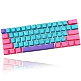 Ussixchare 60% Keycaps for RK61 Ducky One 2 Mini,...